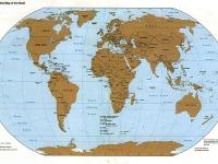 Флеш игра Карта мира: Пазл