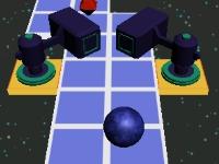 Флеш игра Катящийся в космосе шар