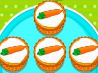 Флеш игра Кексы с морковкой