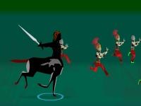 Флеш игра Кентавр и его меч