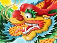 Флеш игра Китайский маджонг с драконом