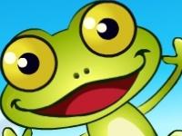 Флеш игра Классическая лягушка