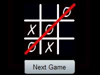 Флеш игра Классические крестики-нолики