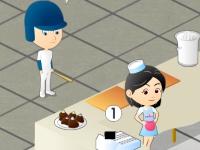 Флеш игра Клевое кафе с мороженым 2