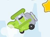 Флеш игра Клик-клик самолетик