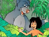 Флеш игра Книга джунглей 2: спасти Балу