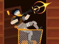 Флеш игра Колеса и зомби: Прибытие