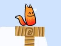 Флеш игра Колобок и Лиса: Сложные уровни