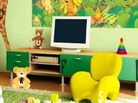 Флеш игра Комната с игрушками: Поиск букв