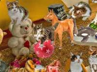 Флеш игра Комната с кошками