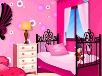 Флеш игра Комната тинейджера в розовых тонах