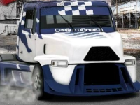 Флеш игра Комплексная гонка на грузовике