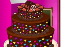 Флеш игра Конфетный торт