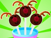 Флеш игра Конфеты Шоколадные олени