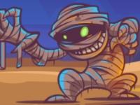 Флеш игра Конфеты для мумии