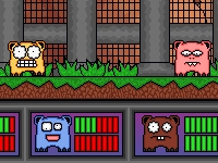 Флеш игра Конкуренция грызунов: Битва за еду