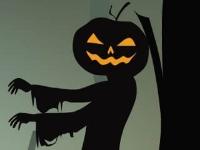 Флеш игра Коннект на Хэллоуин