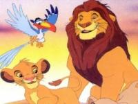 Флеш игра Король Лев: Пазл