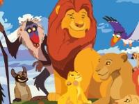 Флеш игра Король Лев: Собери пазл