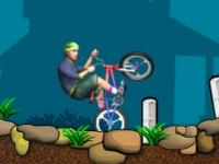 Флеш игра Король езды на заднем колесе