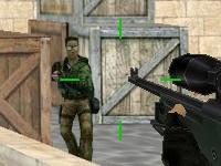 Флеш игра Король снайперов в контре