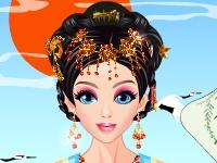 Флеш игра Королева красоты в Азии