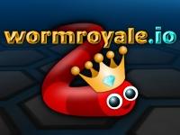 Флеш игра Королевская битва червяков