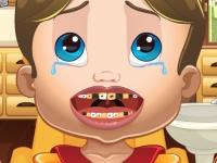 Флеш игра Королевский ребенок: Лечим зубки