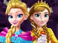 Флеш игра Коронация принцессы Эльзы