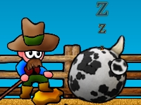Флеш игра Коровы на Диком Западе