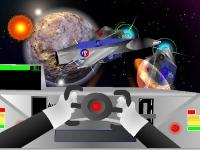 Флеш игра Космическая битва с забытой цивилизацией