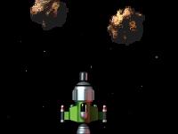 Флеш игра Космическая орбита 2: Атака астероидов