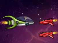 Флеш игра Космическая потасовка