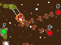 Флеш игра Космические баталии