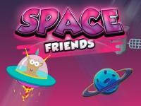 Флеш игра Космические друзья