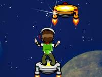 Флеш игра Космические прыжки Бена 10