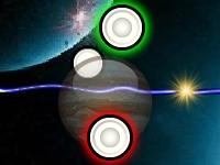 Флеш игра Космический аэрохоккей