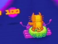 Флеш игра Космический кот