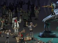 Флеш игра Космический спецназ против зомби
