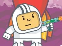 Флеш игра Космонавт против монстров
