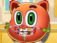 Флеш игра Котенок у дантиста