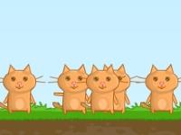 Флеш игра Коты-астронавты