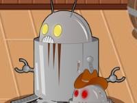 Флеш игра Ковбой против роботов