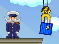 Флеш игра Крановщик в порту