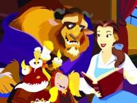 Флеш игра Красавица и чудовище: Пазл
