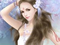Флеш игра Красивые девушки: Поиск чисел