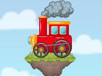 Флеш игра Красный поезд