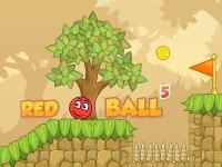 Флеш игра Красный шар 5