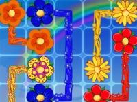 Флеш игра Красочные цветочки