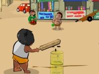 Флеш игра Крикет на улице